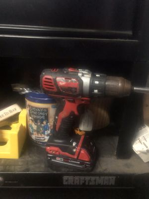 Milwaukee Drill w Battery for Sale in Alexandria, VA