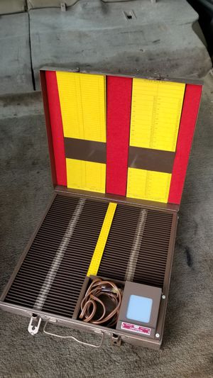 Antique slide carrier and viewer for Sale in San Francisco, CA