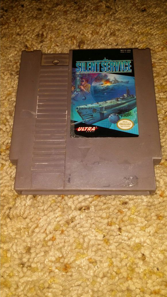 Silent service nes game for Sale in Weslaco, TX - OfferUp