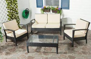 Photo SAFAVIEH Outdoor furniture 4 pc set