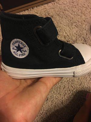 da697ee6809ac0 Toddler Converse chucks black size 5 for Sale in Midland