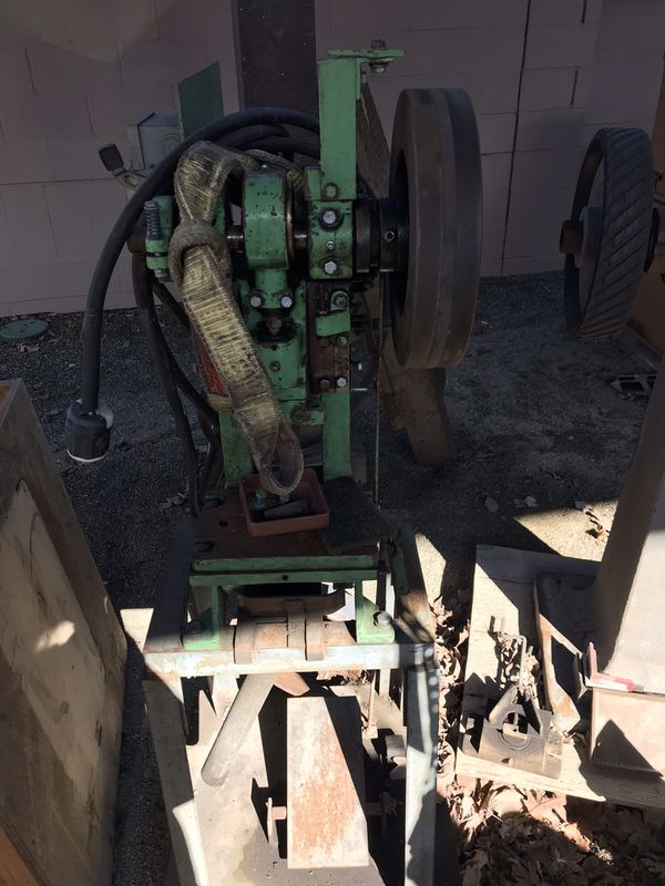 BenchMaster Model 153 5 ton OBI punch press with shop built stand for Sale  in Kent, WA - OfferUp