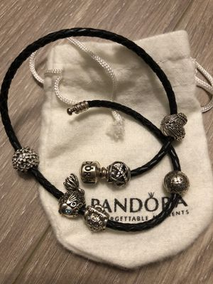 Pandora bracelet and charms (a set) for Sale in Boston, MA