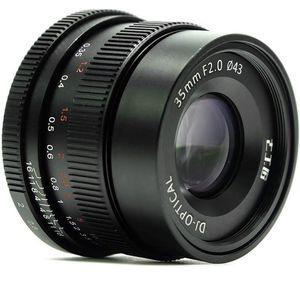7artisans 35mm F2.0 Full Frame Manual Focus Prime Fixed Lens for Sony E-Mount Cameras - Black for Sale in Fayetteville, AR