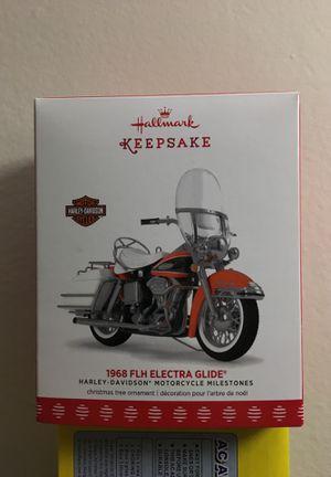 Hallmark keepsake 1968 FLH ELECTRA GLIDE for Sale in Frederick, MD