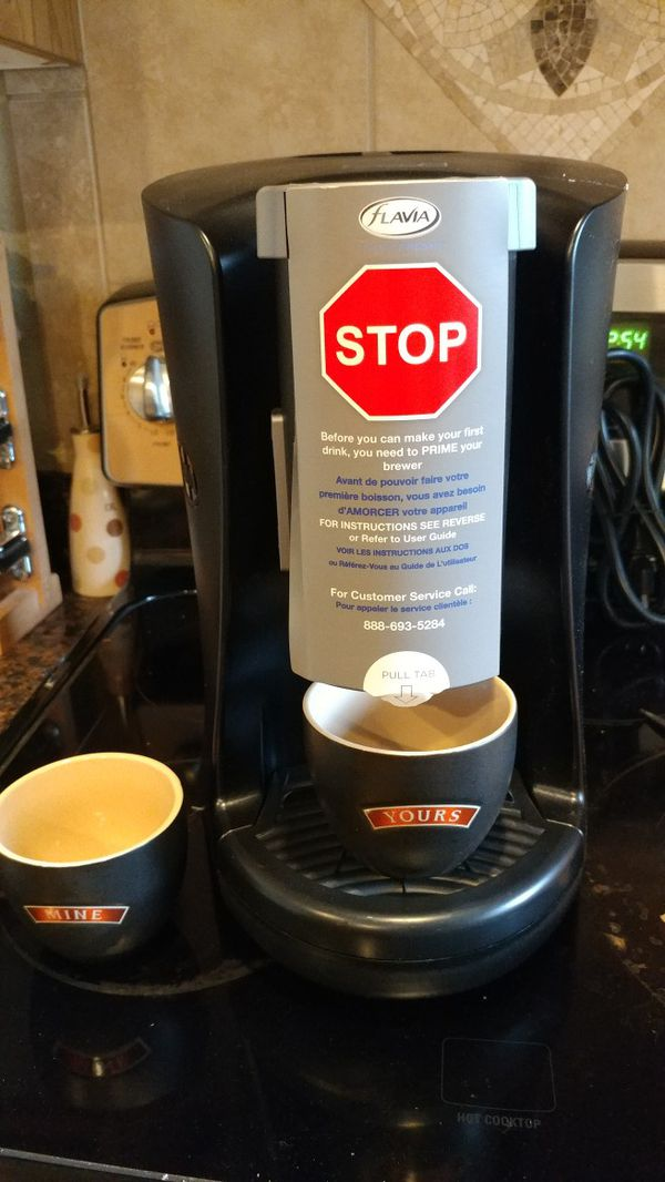 New Flavia Creation Coffee Maker With 60 Specialty Drinks With His