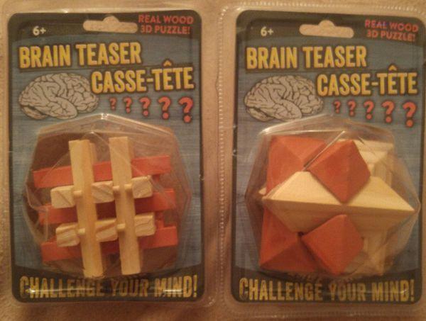 Brain Teaser 3D Puzzles for Sale in Bradenton, FL - OfferUp