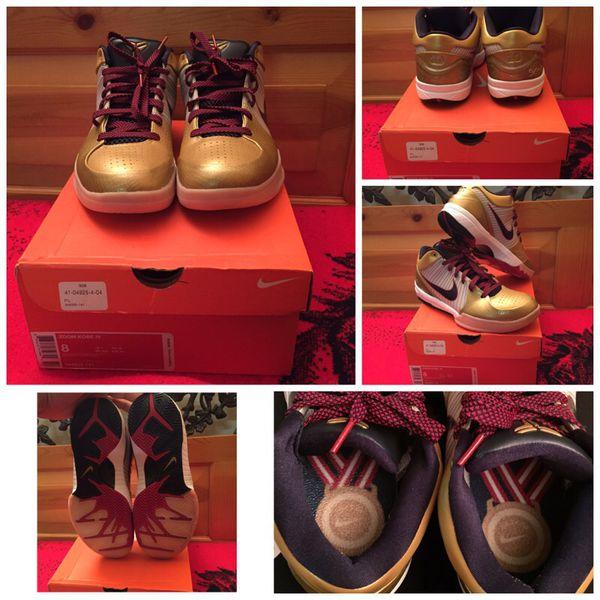 9eef70ebf1e Nike Kobe 4 Gold Medal for Sale in Montebello