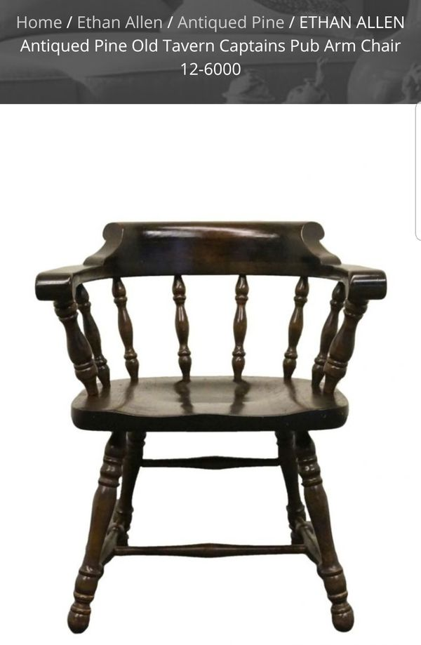 Ethan Allen Antiques Pine Captains Chairs For In Downey Ca Offerup