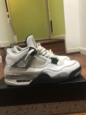 Jordan 4 White Cement Nike Air Sz 10 for Sale in Alexandria, VA