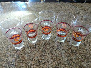 Vintage 1970's ASU/Coca Cola Collector Set of 5 Glasses for Sale in Surprise, AZ