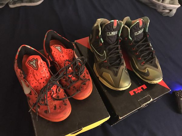 d6f70791098 KOBE 8   LEBRON 11 PACKAGE DEAL for Sale in North Potomac ...