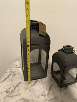 Set Of Two Smith And Hawken Matching Lanterns Thumbnail