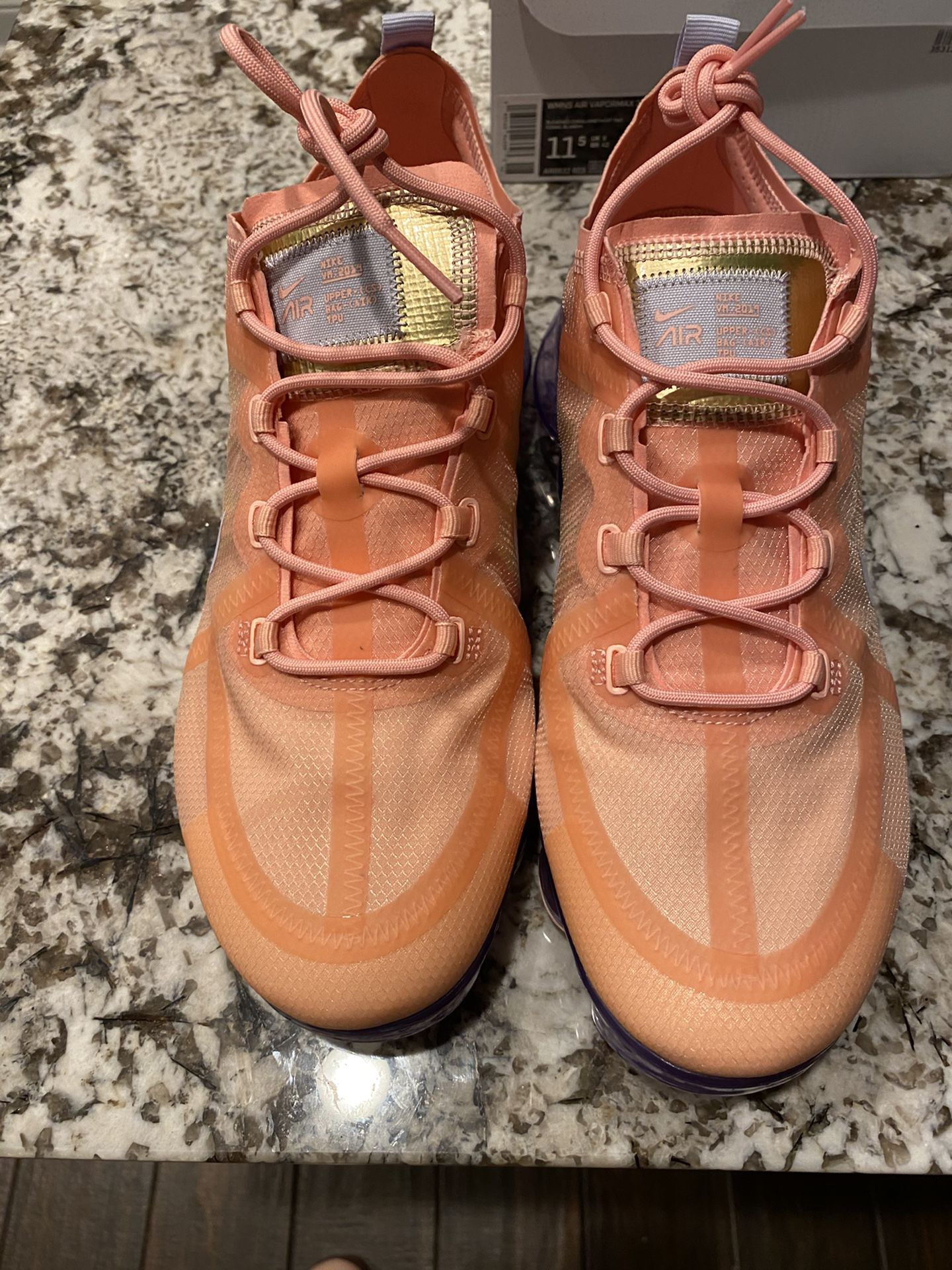 EASTERMAX Vapormax 2019 Bleached Coral/Amethyst Mint/Corail Blanchi