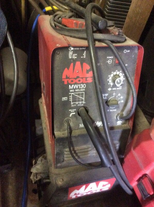 Mig Welder For Sale >> Mac Tools Mw130 Mig Welder For Sale In Houston Tx Offerup