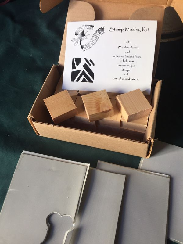 Stamp Making Kit Blocks Art Design Your Own Mixed Media Artist Supplies DYI For Sale In Henderson NV