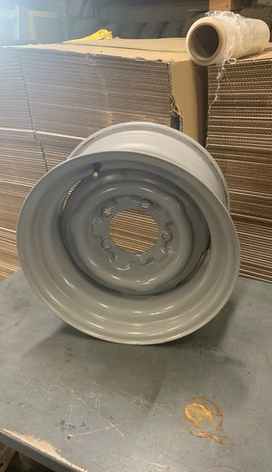 Photo Jeep CJ set of OE steel wheels 15X8's