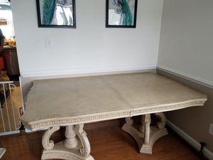 Ancient greek looking dining room table for Sale in Waynesboro, VA