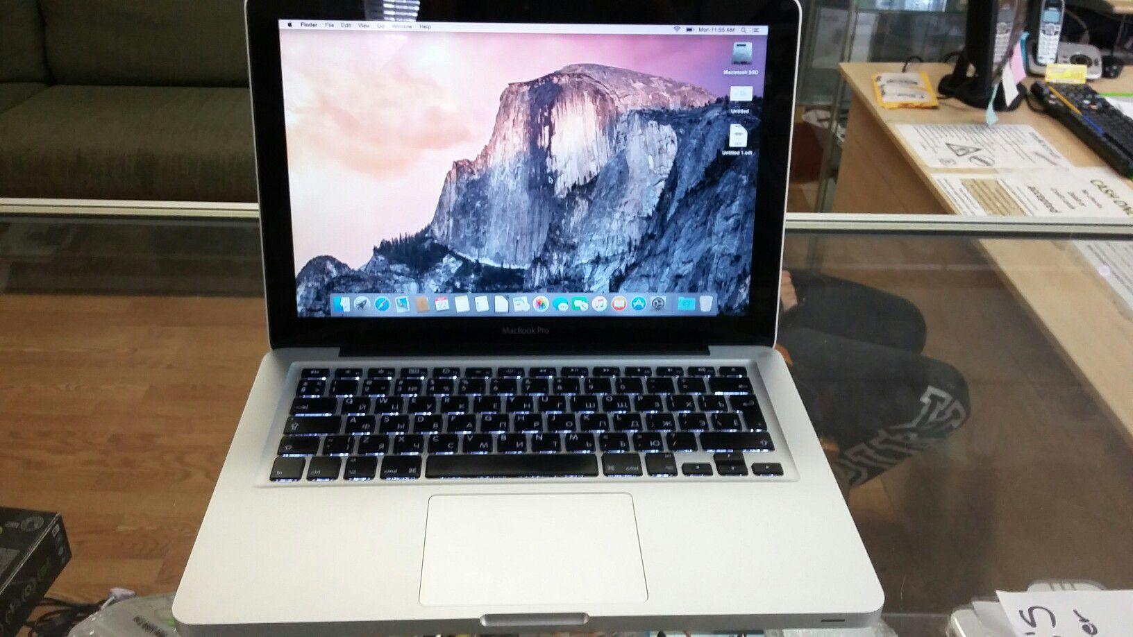 2009 Macbook Pro mid 2009 13 inch 2.26GHZ w/ Russian keyboard