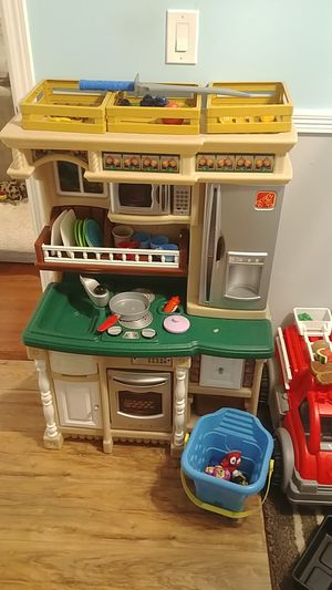 Photo Kids Step 2 Kitchen