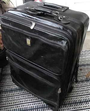 Bill Blass Leather Suitcase for Sale in Ashburn, VA