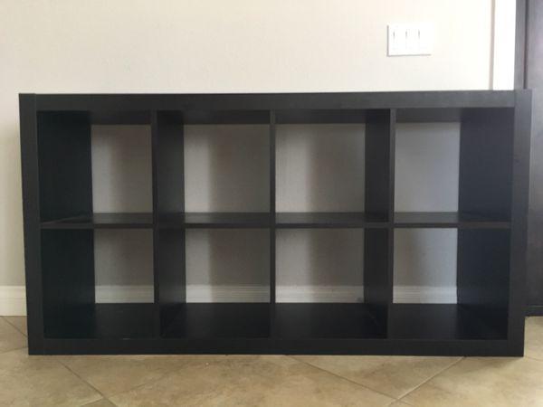 Ikea Kallax Bookshelf Blackbrown For Sale In San Diego Ca Offerup