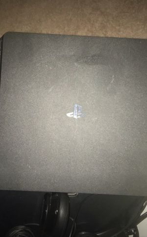 PS4 with turtle beach headphones for Sale in Alexandria, VA