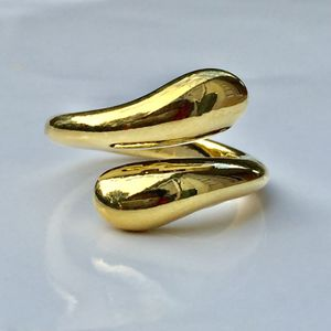 Gold plated water drop ring for Sale in Silver Spring, MD