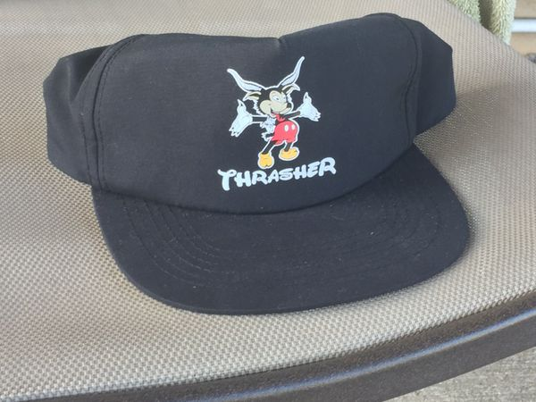 Thrasher Mickey Mouse hat for Sale in Greenwood 1a15223c281