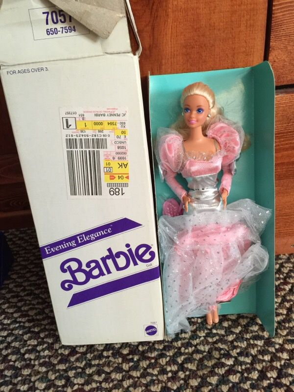 Never opened collectible Barbie