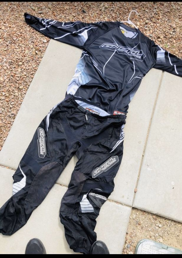 O'Neal Motocross Pants and Jersey
