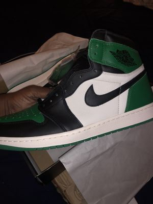 Air Jordan retro 1 pine green size 12 new for Sale in Reisterstown, MD