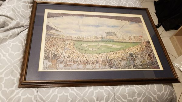 Large Wrigley Field Frame for Sale in Fort Lauderdale, FL - OfferUp