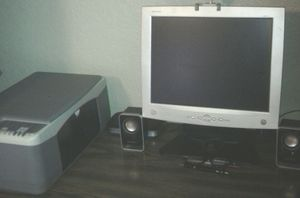 Computer Monitor, Speaker for Sale in Tampa, FL