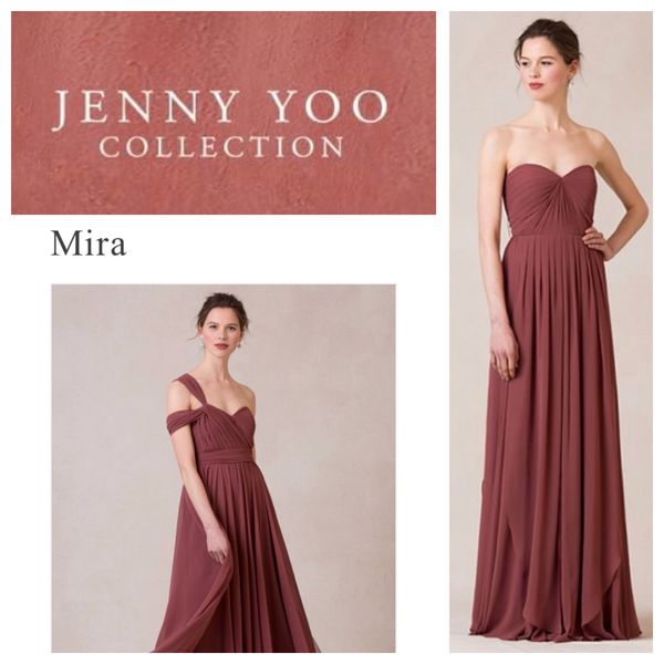 abe382fe069 Jenny Yoo cinnamon rose dress only  115!! for Sale in Buckley