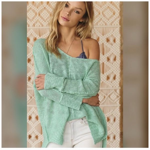 b7cc5ef18ca Soft Luxe Mint Green Oversized Sweater Cardigan for Sale in El Cajon ...