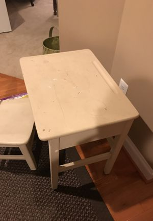 Free table and chair for Sale in Clarksburg, MD