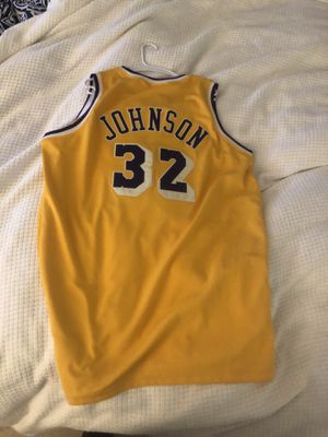 3bf832e05bd Vintage Mitchell & ness Lakers Johnson jersey with tags for Sale in  Greenwich, ...