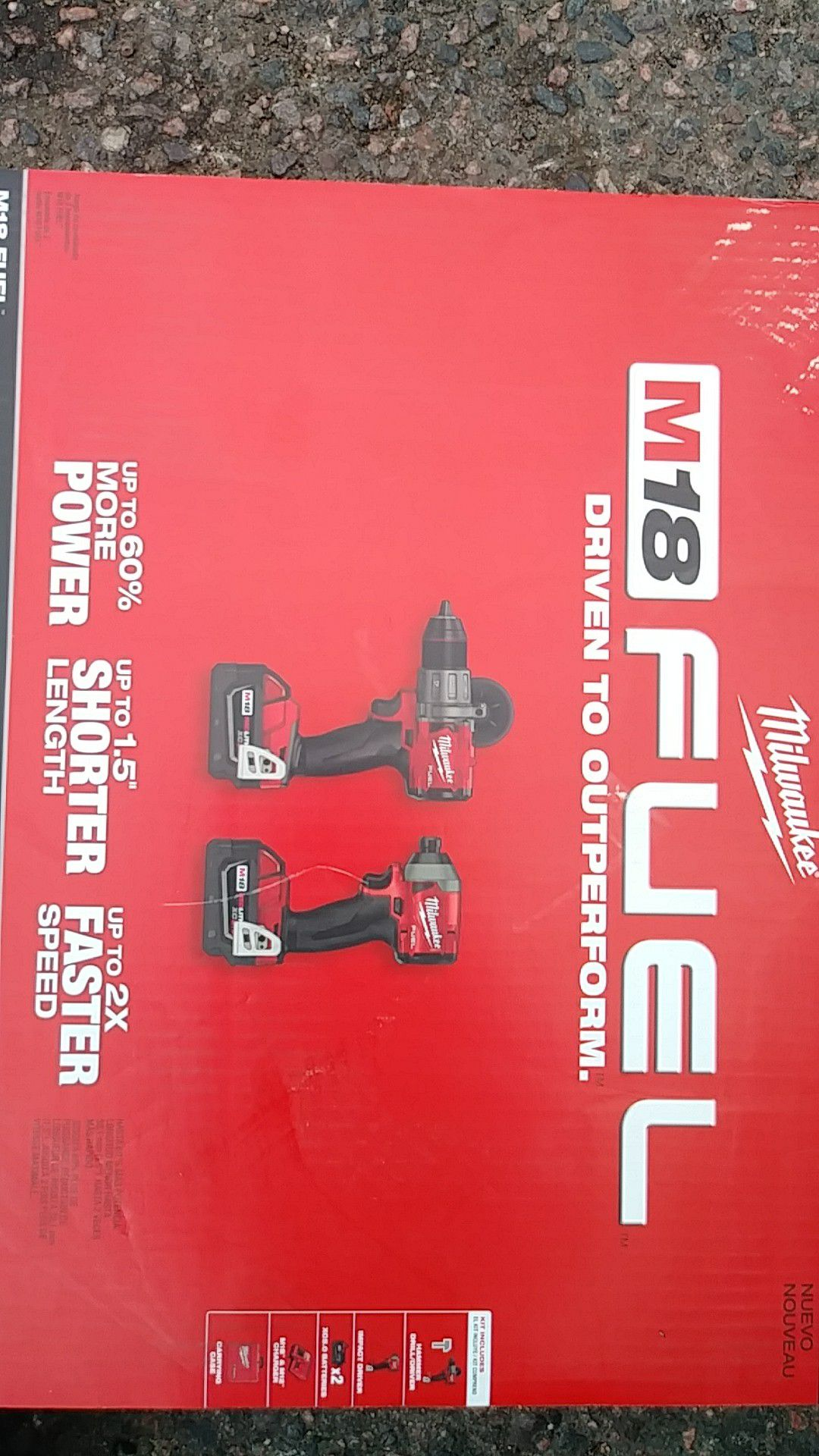 Milwaukee fuel m18 hammer drill and impact