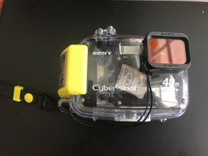 Sony cybershot waterproof camera case for Sale in Colesville, MD