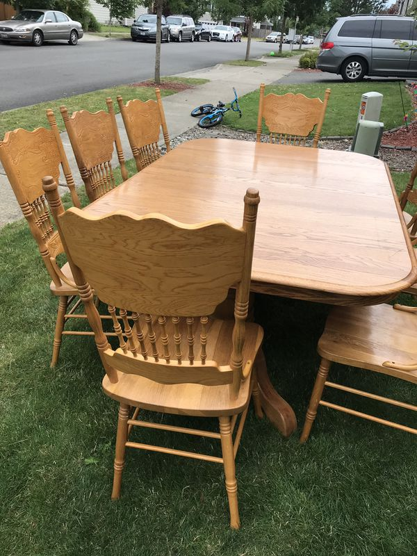 Big Dining Room Table With 10 Chairs For Sale In Covington