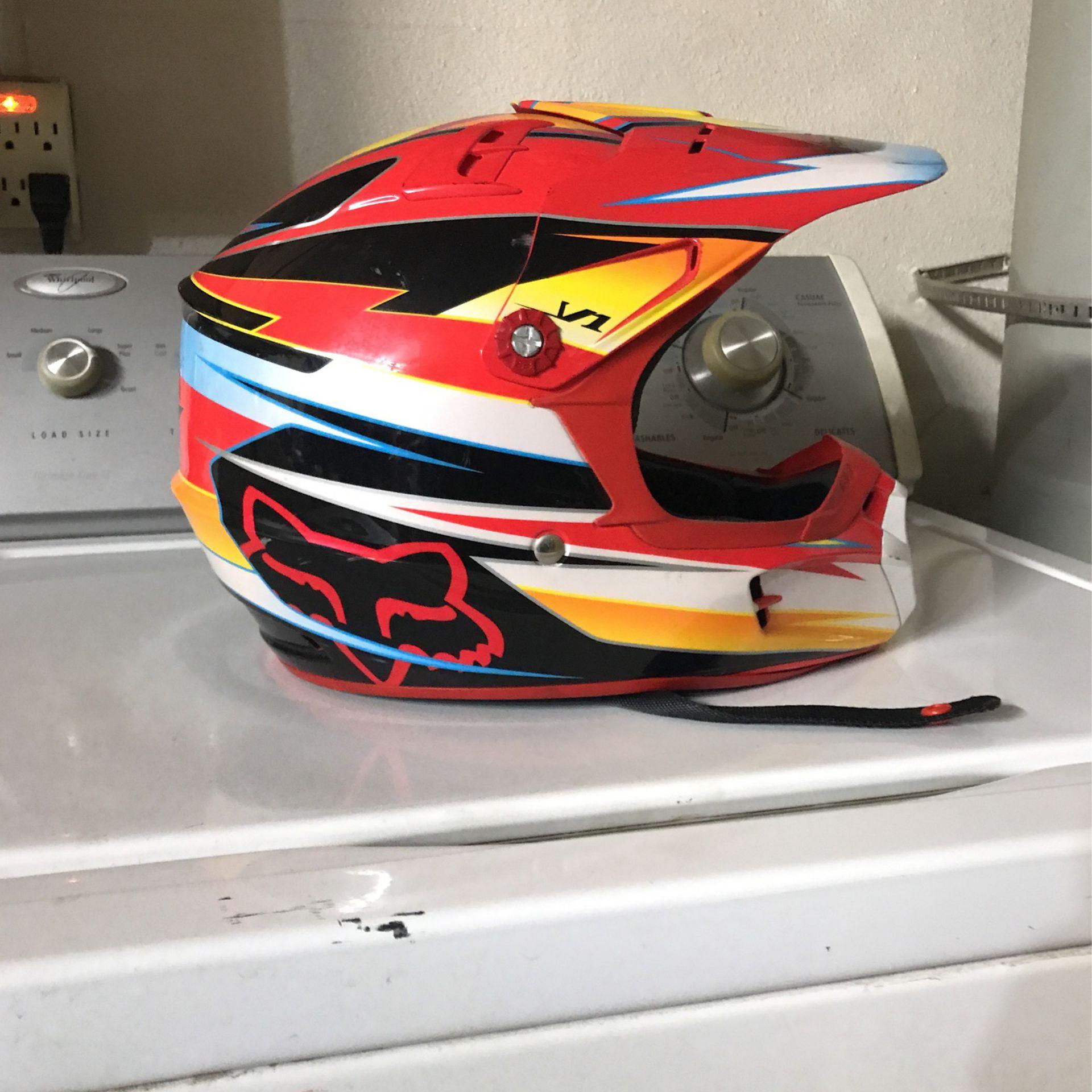 Fox Dirt Bike Helmet Kids