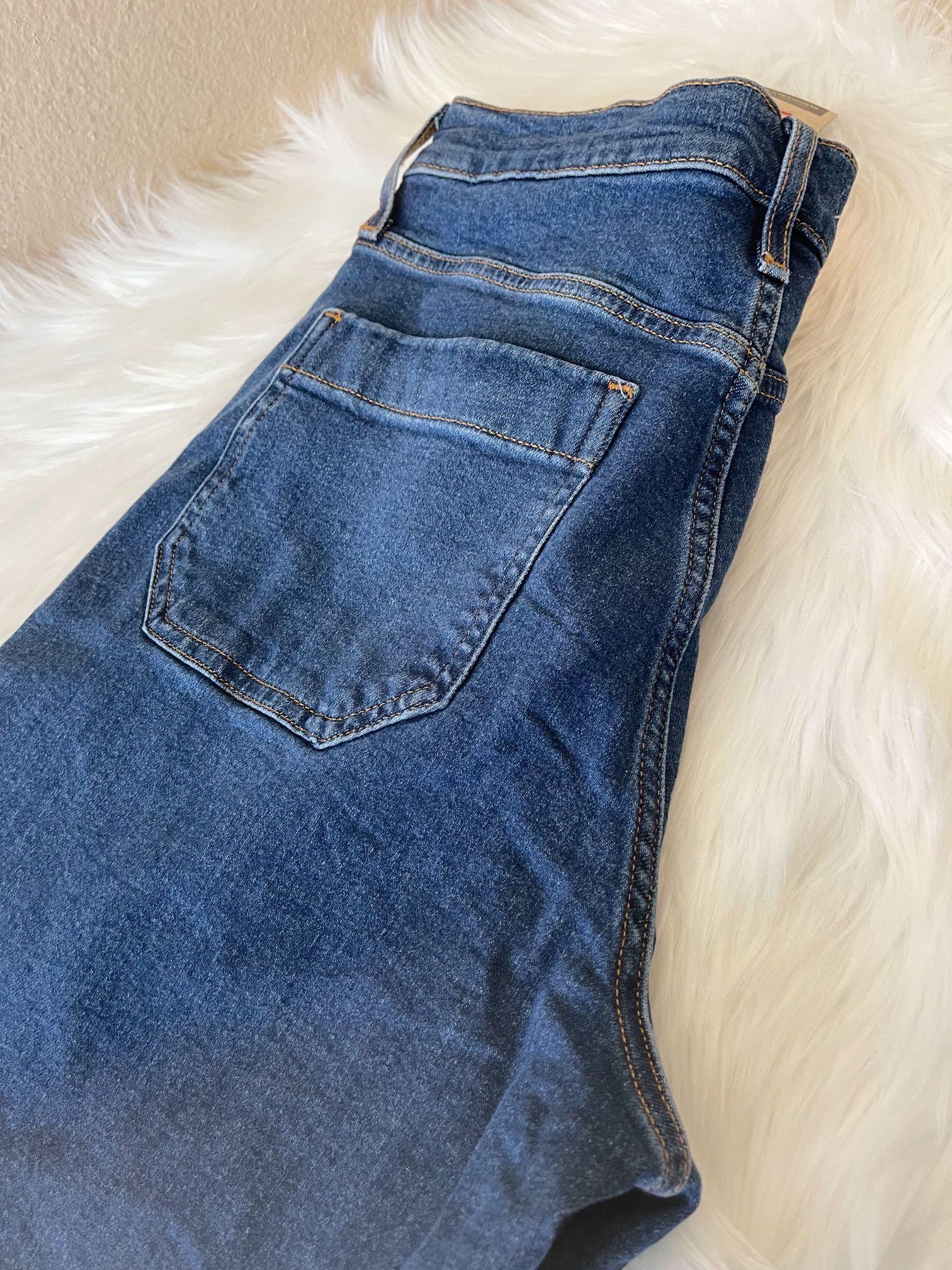 Levi's Mile High Cropped Wide Leg Pants