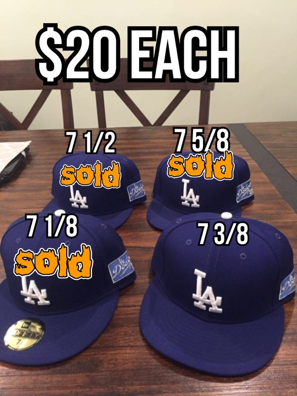 89e0c5e9d4ccc0 MLB new era Los Angeles Dodgers retro retro World Series patch 59fifty  Fitted hat size 7 3/8