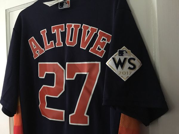 brand new 7746f a7c51 Houston Astros Jose Altuve World Series Large Jersey MVP for Sale in  Houston, TX - OfferUp