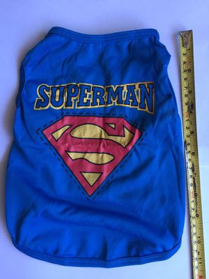 Superman dog shirt. For medium to small dog. for Sale in Denver, CO