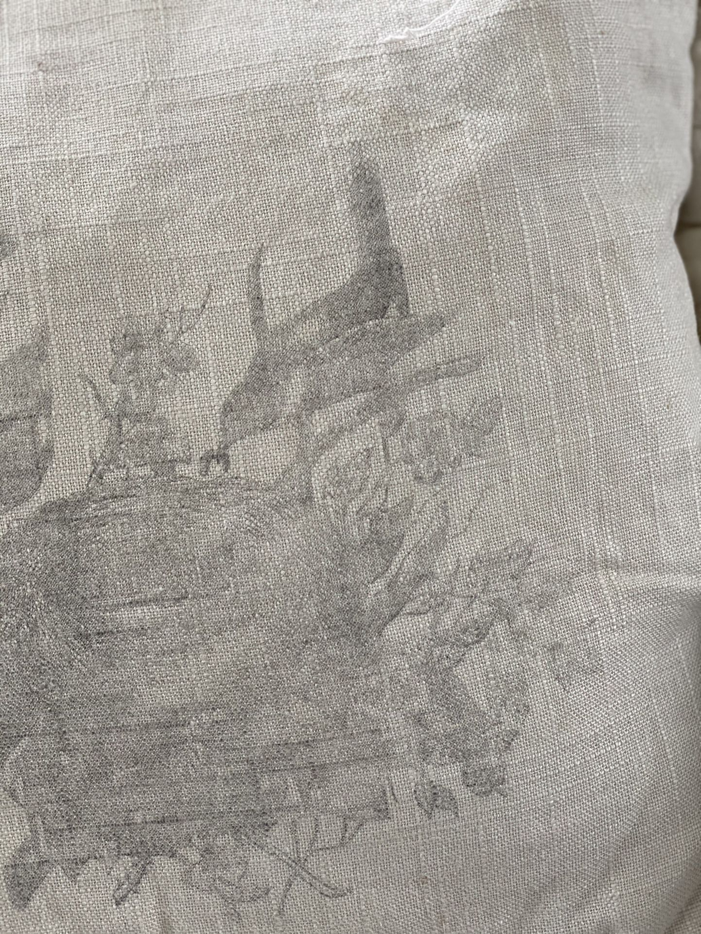 Tattered And Torn Square Toss Pillow
