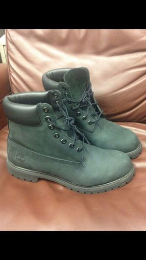 Brand new Classic Timberland Boots 10073 Waterproof - Black Nubuck 11.5 M for Sale in Miami, FL