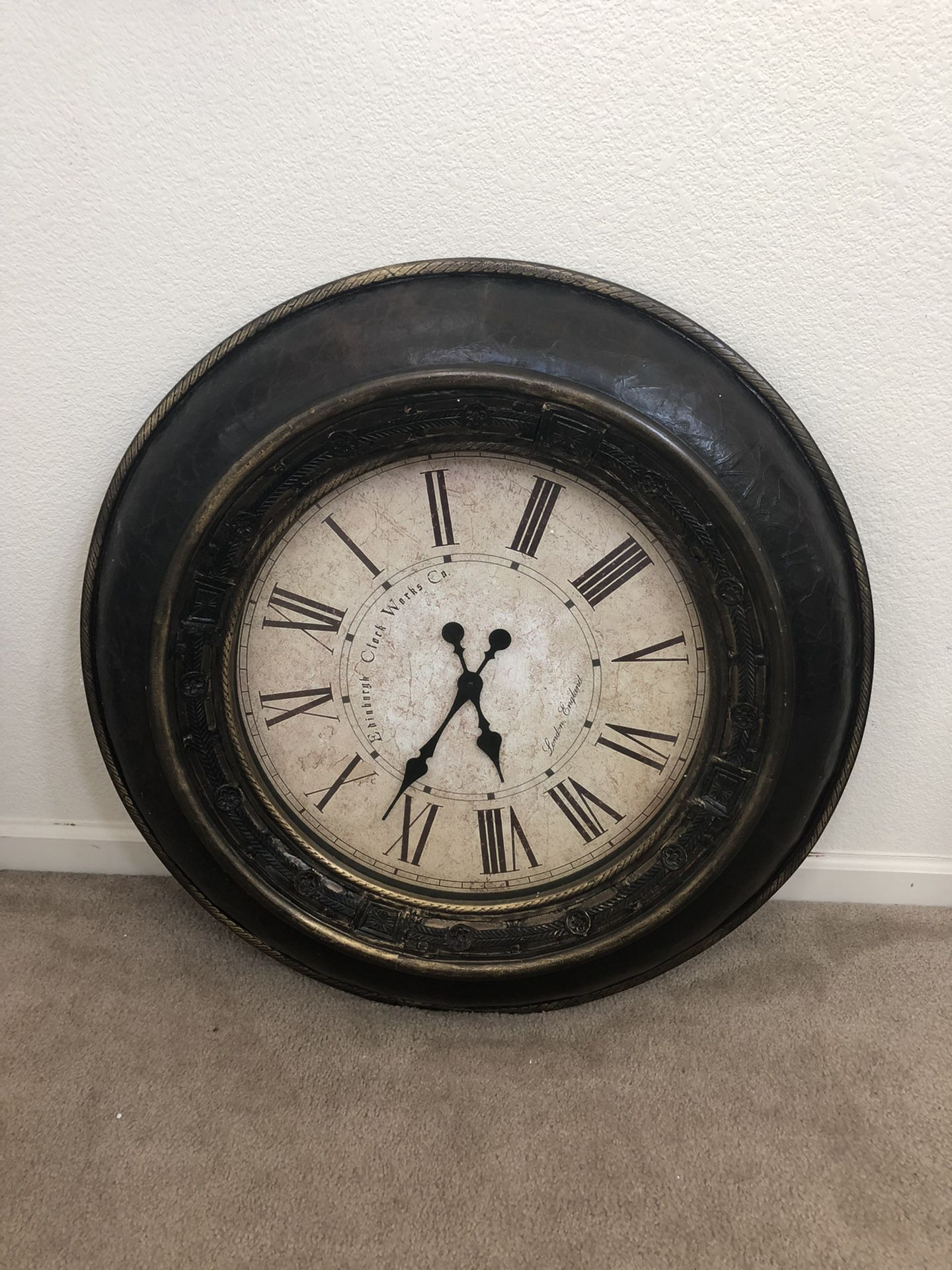 Large Wall Battery Operated Clock