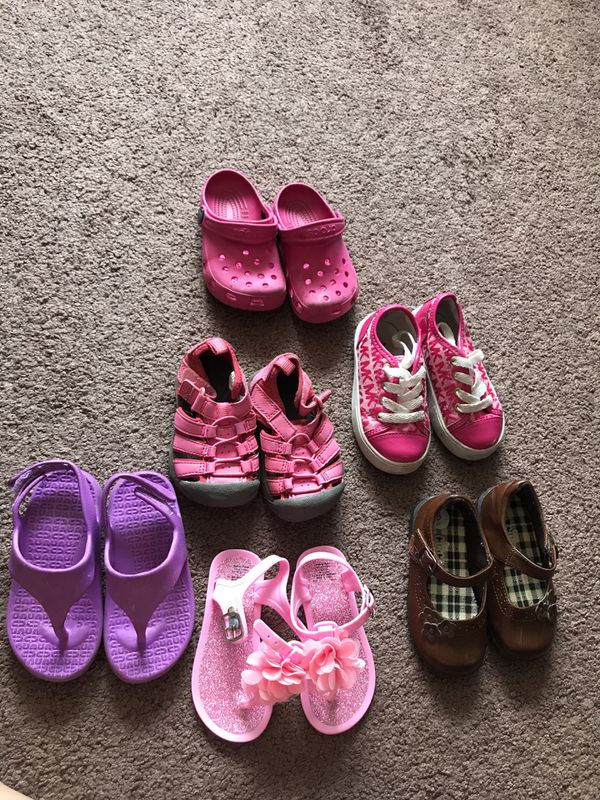 Little Girl Shoes Size 6c 4c 7c For Sale In San Leandro Ca